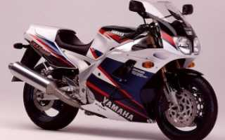 Мотоцикл FZR1000 Genesis (1987): технические характеристики, фото, видео