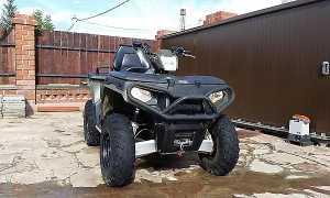 Мотоцикл Sportsman 500 HO Touring (2010): технические характеристики, фото, видео