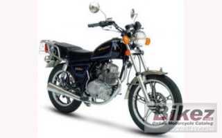 Мотоцикл Bronco 125 (2010): технические характеристики, фото, видео
