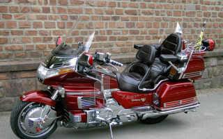 Мотоцикл GL 1500 SE Gold Wing 1990: технические характеристики, фото, видео