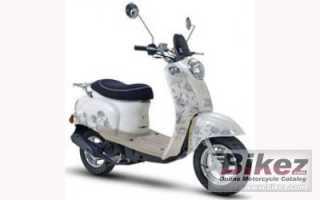 Мотоцикл Venus IID 50 (2010): технические характеристики, фото, видео