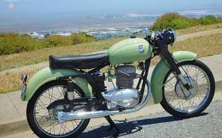 Мотоцикл 175CSTL Tourismo Lusso (1954): технические характеристики, фото, видео