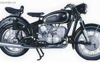 Мотоцикл R69S (1960): технические характеристики, фото, видео