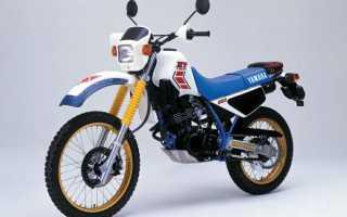 Мотоцикл XT250T (1982): технические характеристики, фото, видео