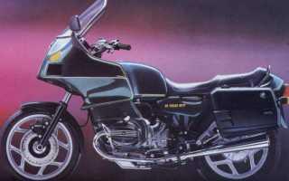 Мотоцикл R100RT (1987): технические характеристики, фото, видео
