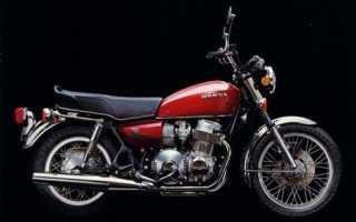 Мотоцикл CB750 Hondamatic (1975): технические характеристики, фото, видео