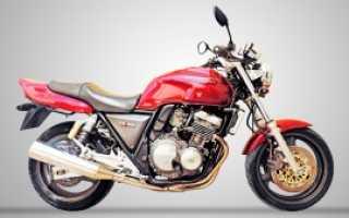 Мотоцикл CB 400 Four 1992: технические характеристики, фото, видео