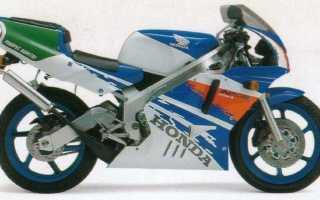 Мотоцикл NSR250R (NC21) (1992): технические характеристики, фото, видео