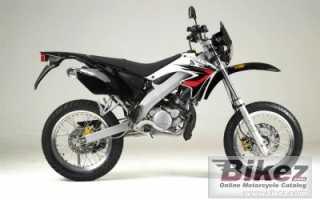 Мотоцикл Ryz 50 Super Motard (2007): технические характеристики, фото, видео