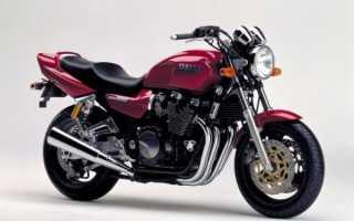 Мотоцикл XJR 1200 1996: технические характеристики, фото, видео
