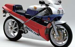 Мотоцикл VFR750R (RC30) (1987): технические характеристики, фото, видео