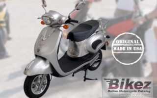 Мотоцикл Elektroroller Retro Lithium (2010): технические характеристики, фото, видео