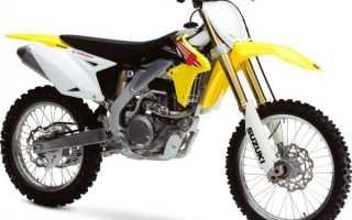 Мотоцикл RM-Z450 (2010): технические характеристики, фото, видео