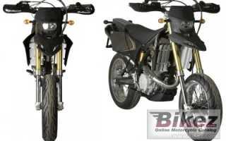 Мотоцикл SM 450 Supermotard (2010): технические характеристики, фото, видео