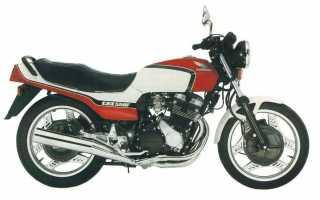 Мотоцикл CBX 550 F (reduced effect): технические характеристики, фото, видео