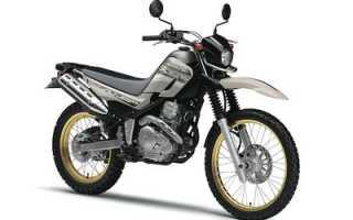 Мотоцикл XT250G (1979): технические характеристики, фото, видео