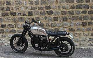 Мотоцикл XZ550 Vision (1982): технические характеристики, фото, видео