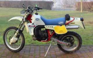 Мотоцикл 600XC Enduro Sport (1984): технические характеристики, фото, видео