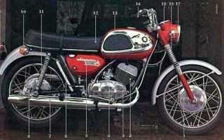 Мотоцикл Super T21 (T250) (1967): технические характеристики, фото, видео