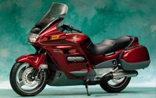 Мотоцикл ST1100 Pan European ABS (1992): технические характеристики, фото, видео