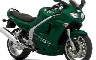 Мотоцикл Sprint ST (2002): технические характеристики, фото, видео