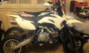 Мотоцикл LXR 155R TEN Pit Bike (2013): технические характеристики, фото, видео
