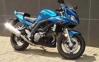Мотоцикл SV650 (2008): технические характеристики, фото, видео