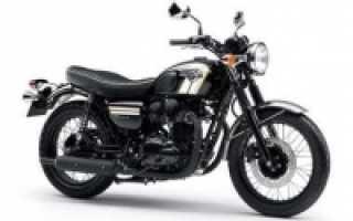 Мотоцикл W800: технические характеристики, фото, видео