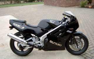 Мотоцикл GSX-R250R (1989): технические характеристики, фото, видео