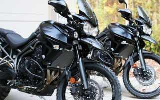 Мотоцикл Tiger 800XC (2011): технические характеристики, фото, видео