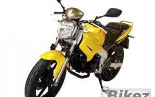 Мотоцикл KR Naked 125 (2010): технические характеристики, фото, видео