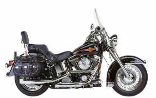 Мотоцикл FLSTC 1340 Heritage Softail Classic (1986): технические характеристики, фото, видео
