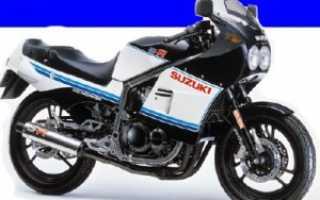 Мотоцикл GSX-R400 (1986): технические характеристики, фото, видео