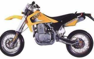 Мотоцикл 604DS Supermoto (2000): технические характеристики, фото, видео