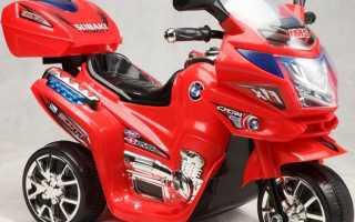Детский мотоцикл на аккумуляторе: как выбрать, видео обзор мотоциклов на аккумуляторах