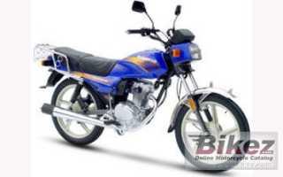 Мотоцикл Trooper 125 (2010): технические характеристики, фото, видео