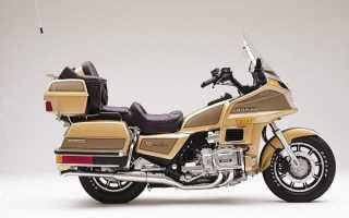 Мотоцикл GL1200 Goldwing Aspencade (1984): технические характеристики, фото, видео