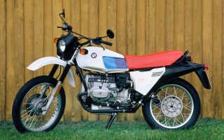 Мотоцикл R80GS (1987): технические характеристики, фото, видео
