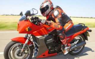 Мотоцикл GPZ 1100 1995: технические характеристики, фото, видео