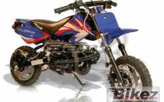 Мотоцикл BX50-DB Pee Wee (2009): технические характеристики, фото, видео