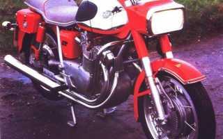 Мотоцикл 600GT (1966): технические характеристики, фото, видео