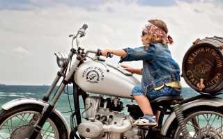 Можно ли перевозить детей на мотоцикле