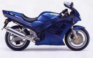 Мотоцикл RF600R (1992): технические характеристики, фото, видео