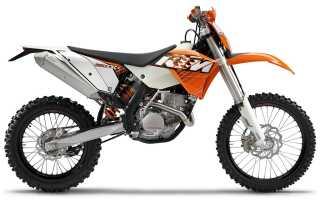 Мотоцикл 250EXC-F (2011): технические характеристики, фото, видео