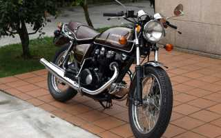 Мотоцикл CB500T (1975): технические характеристики, фото, видео