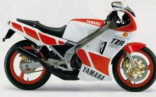 Мотоцикл TZR250 (2MA) (1985): технические характеристики, фото, видео