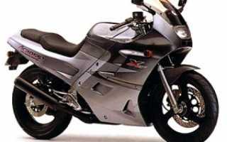 Мотоцикл GSX250F Across (1992): технические характеристики, фото, видео