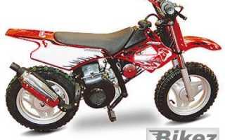 Мотоцикл Bull 50 Junior (2008): технические характеристики, фото, видео
