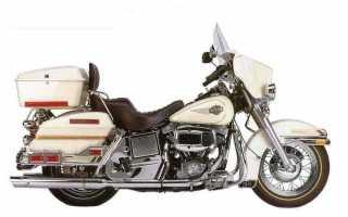 Мотоцикл FLHX Street Glide (1984): технические характеристики, фото, видео