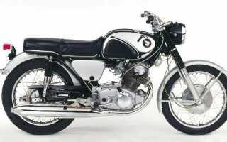 Мотоцикл CB77 Superhawk (1963): технические характеристики, фото, видео